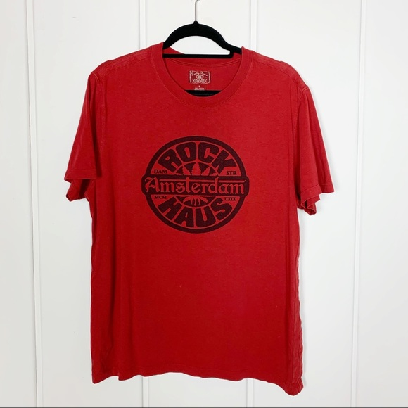 Lucky Brand Other - Lucky Brand Red Amsterdam Graphic Tee Q5